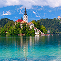 Bled Castle and Lake Hike
