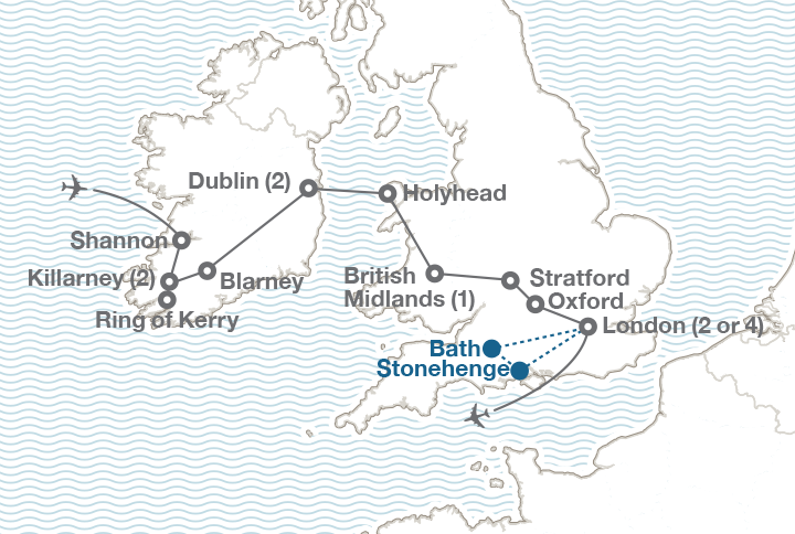 Map Of England King Arthur.The British Isles England Ireland Wales Ef College Study Tours