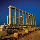 Cape Sounion with dinner