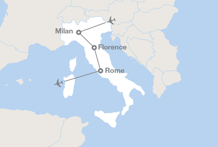Milan To Rome >> Milan Florence And Rome Ef Educational Tours