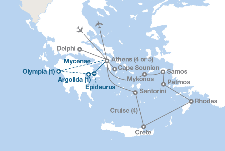 Athens And The Islands EF Educational Tours - Where is athens