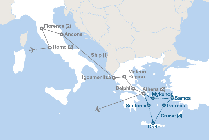 Italy and greece ef educational tours canada in vatican city crane your neck in awe inside st peters basilica and the sistine chapel in delphi look deep into greeces mythical past gumiabroncs Image collections
