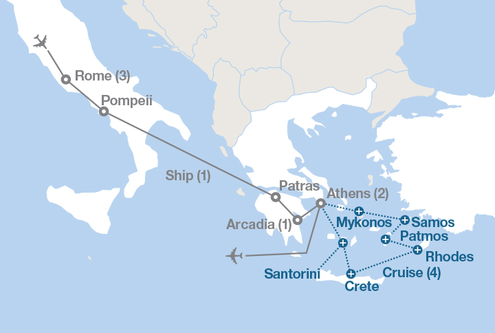 From Rome to Athens | EF Educational Tours Canada