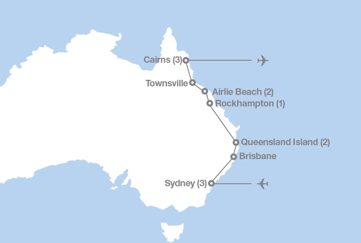 Sydney To The Great Barrier Reef Ef Educational Tours