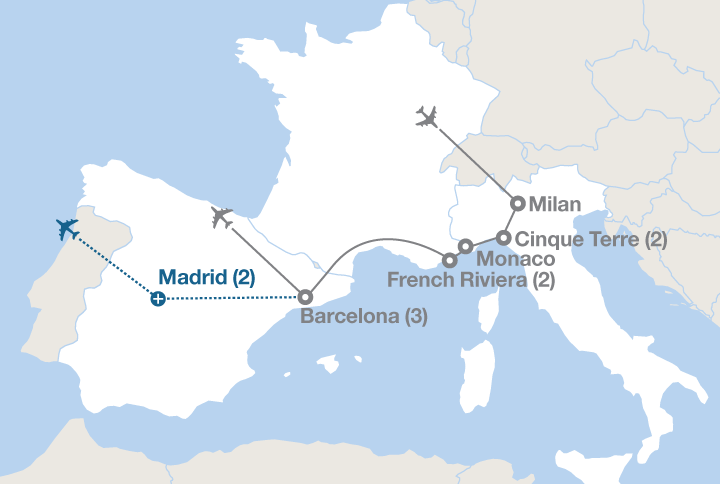 Southern Europe Road Trips - Experiencify