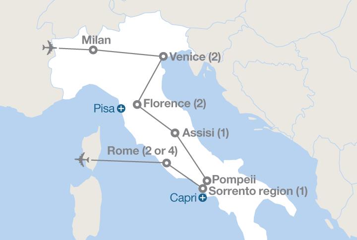 Grand Tour Of Italy EF Educational Tours - Italy tour