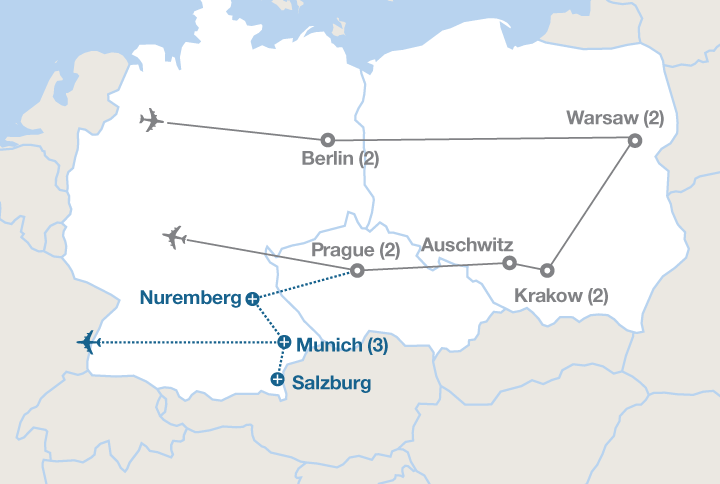 Day Tour From Munich To Prague