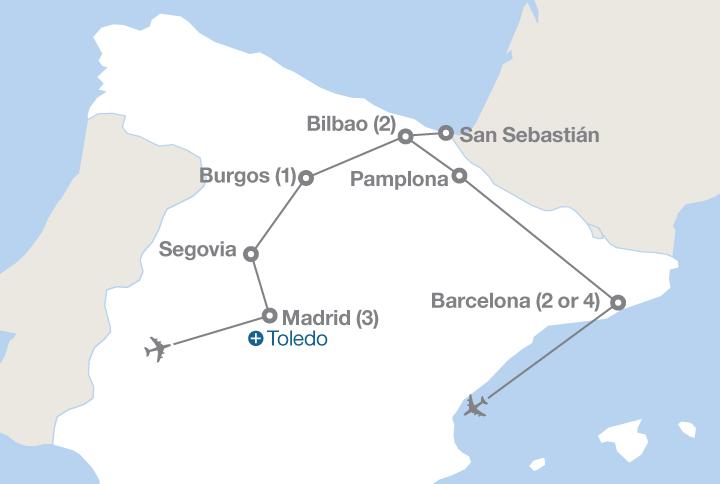 Madrid to Barcelona | EF Educational Tours