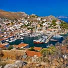 3-Island Shore Excursion Package: Vathi, Knossos Palace and Oia Village