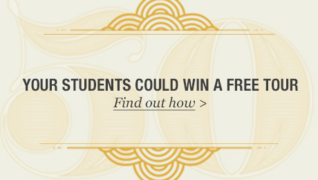 students win a free tour