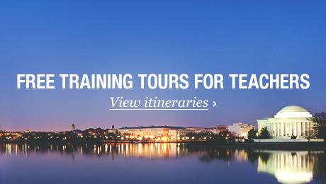 free training tours for teachers