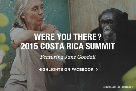 Jane Goodall Costa Rica 2015 Global Student Leaders Summit